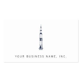 Saturn Rocket Tarjeta De Visita