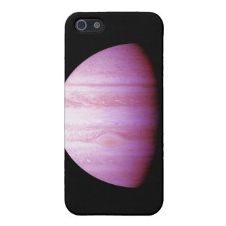 Saturn rosado iPhone 5 carcasas