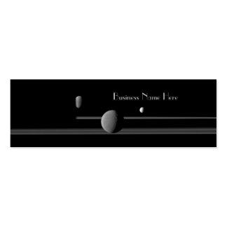 Saturn s Moons Bookmark Business Cards