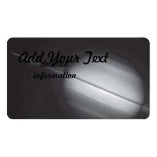 Saturn s Rings Edge-on Business Card Templates