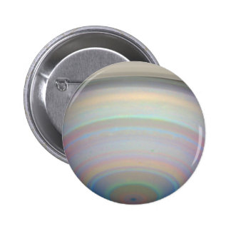 Saturn s Rings in Infrared Light Pinback Buttons