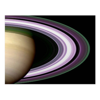 Saturn s Rings Postcard