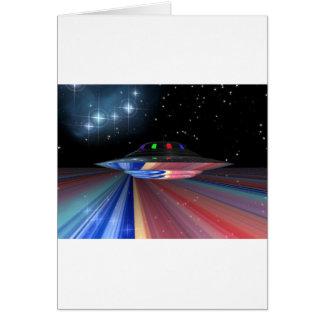 Saturn saucer card
