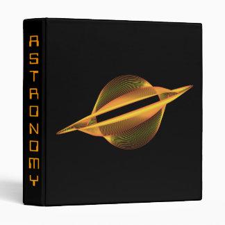 Saturn Science Avery Binder