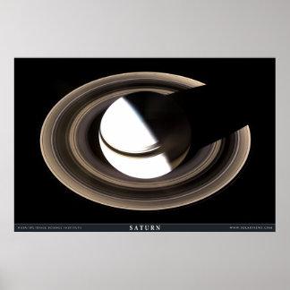Saturn según lo nunca visto antes póster