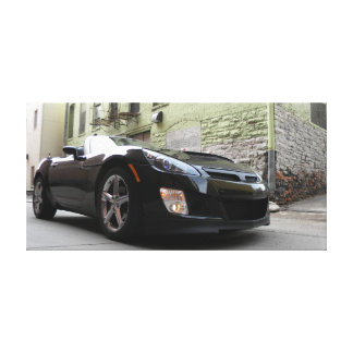 Saturn Sky in Alley Canvas Print