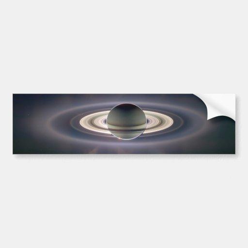 Saturn Solar Eclips Bumper Stickers