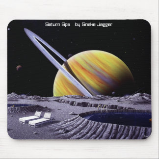 Saturn Spa Mouse Pad