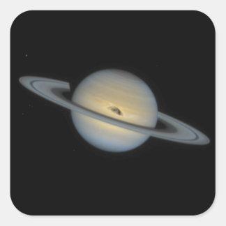 Saturn Square Sticker