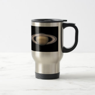 Saturn Stainless Steel Travel Mug Astronomy gift