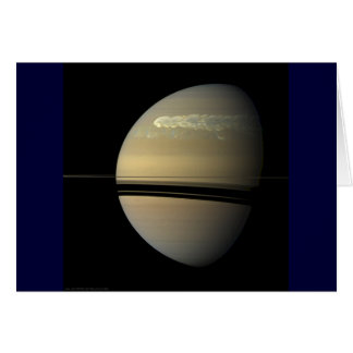 Saturn Storm Stationery Note Card