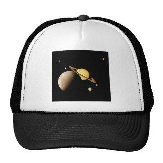 SATURN SYSTEM MONTAGE (solar system) ~ Trucker Hat