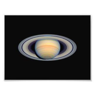 Saturn (telescopio de Hubble) Fotografía