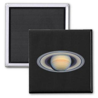 Saturn (telescopio de Hubble) Imán Cuadrado