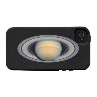 Saturn telescopio de Hubble iPhone 4 Funda