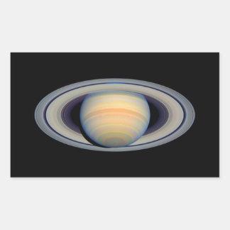 Saturn (telescopio de Hubble) Pegatina Rectangular