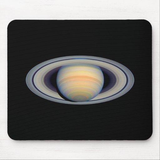 Saturn (telescopio de Hubble) Tapetes De Ratones