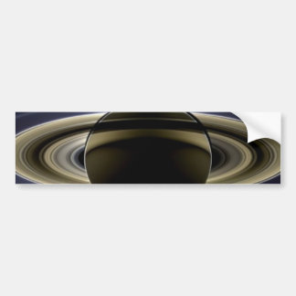 Saturn - The Day the Earth Smiled Bumper Sticker
