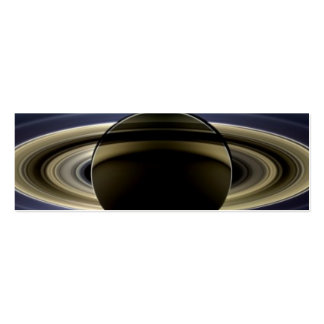 Saturn - The Day the Earth Smiled Business Card Template