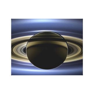 Saturn - The Day the Earth Smiled Canvas Print