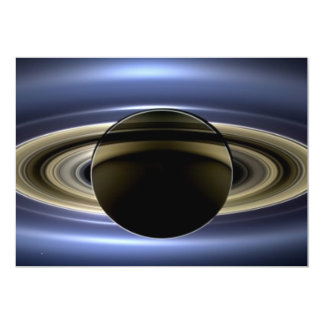 Saturn - The Day the Earth Smiled Card