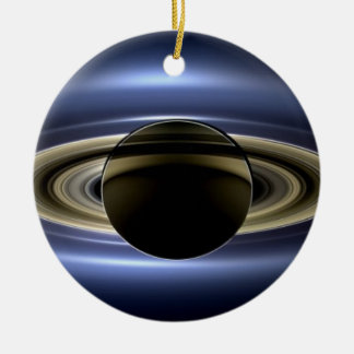 Saturn - The Day the Earth Smiled Ceramic Ornament