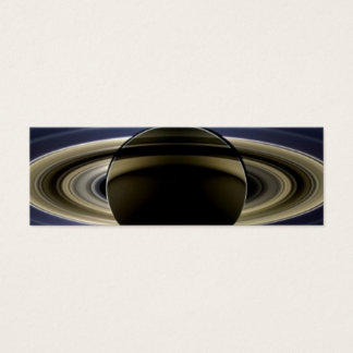 Saturn - The Day the Earth Smiled Mini Business Card