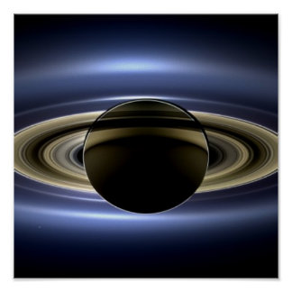 Saturn - The Day the Earth Smiled Poster