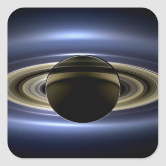 Saturn - The Day the Earth Smiled Square Sticker