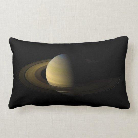 Saturn the Sixth Planet from the Sun Lumbar Pillow