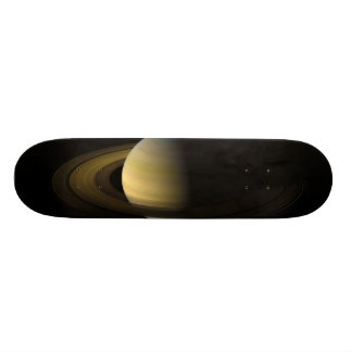 Saturn the Sixth Planet from the Sun Skateboard
