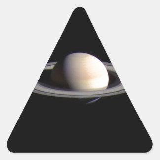 Saturn Triangle Sticker