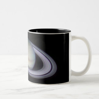 saturn Two-Tone coffee mug