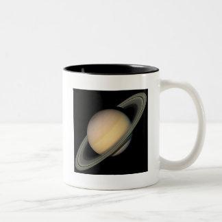 Saturn Two-Tone Coffee Mug