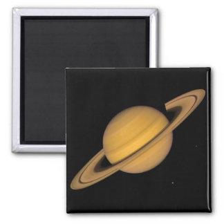SATURN v.1 (solar system) ~ 2 Inch Square Magnet