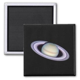SATURN v.2 (solar system) ~ 2 Inch Square Magnet