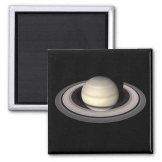 SATURN v.4 (solar system) ~ 2 Inch Square Magnet