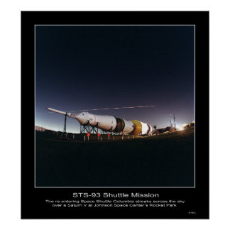 Saturn V at Johnson Space Center's... - Customized Posters