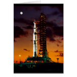 Saturn V Greeting Card Greeting Cards