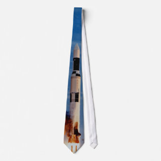 Saturn V Launches The Skylab Space Station Neck Tie