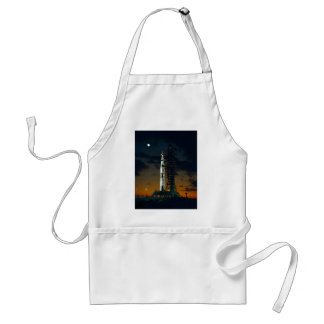 Saturn V rocket Adult Apron