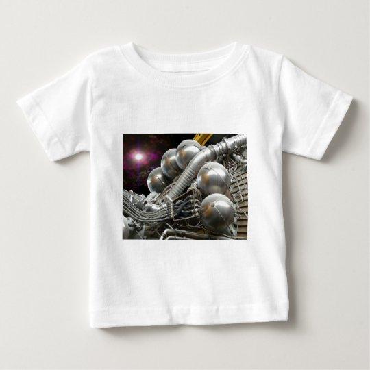 Saturn V Rocket Engine Baby T-Shirt
