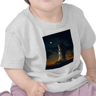 Saturn V rocket on the launch pad Tee Shirt