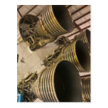 Saturn V Rocket Post Card