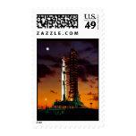 Saturn V Rocket Postage Stamp Stamps
