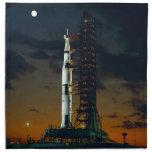 Saturn V rocket Printed Napkin