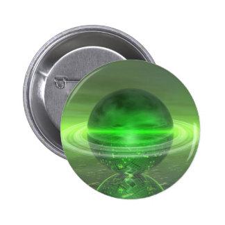 Saturn verde electrónico pin