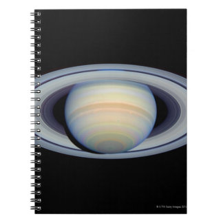 Saturn with rings at widest angle to Earth Notebooks