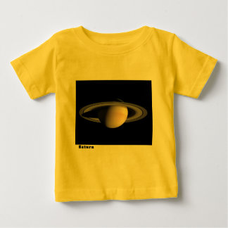 Saturn with Rings Baby T-Shirt