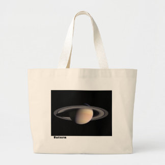 Saturn with Rings Canvas Bags